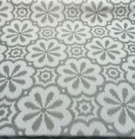 HG TV Mod Metal Pewter Gray Fabric By The Yard