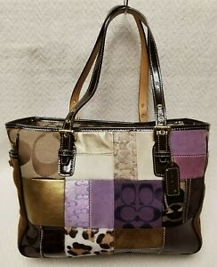 Coach Medium Patchwork Tote