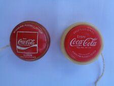 Coca-Cola Professional & Super Mint Etched Yo-Yo Philippines - 2 Pcs.