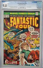 Fantastic Four #141 CGC 9.0   John Romita Cover, Annihilus App   Marvel 1973