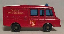 1966 Land Rover Fire Truck No. 57 Vintage Original Lesney Matchbox 1-75