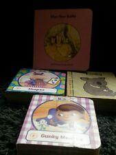 Lot of 4 preschool board books.