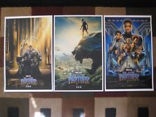 "Black Panther ( 11"" x 17"" )  Movie Collector's Poster Prints (SET OF 3)"