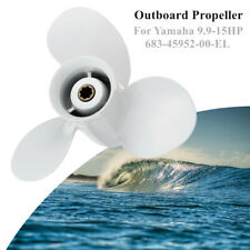 9 1/4 x 9 3/4 Outboard Propeller Marine Fit for Yamaha 9.9-15HP 683-45952-00-EL