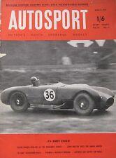 AUTOSPORT magazine 8/4/1955 Vol.10, No.14 featuring Singer Hunter road test