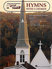 E-Z Play Today 65 - HYMNS USING 3 CHORDS - Easy Keyboard Organ Music Book EZ SFX