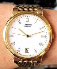 Gents GP Citizen Date Quartz Bracelet Watch 5510-S19546 Boxed