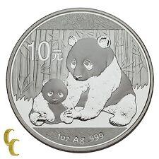2012 China 1 oz Silver Panda 10 Yuan (BU) Brilliant Uncirculated Condition
