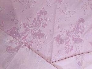Anna Scholz duvet Cover King Size pillow set Paisley Pink Border Vintage Ks