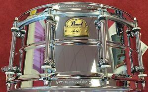 "Pearl Ian Paice Signature 14"" x 6.5"" Steel Snare Drum"