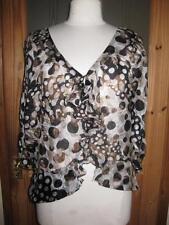 Zara Hip Length V Neck Formal Tops & Shirts for Women