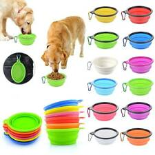 Portable Collapsible Travel Pets Dog Bowl Food Water Dish Foldable Pet Supplies