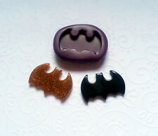 Silicone Mold Bat Man Bat Mould (27mm) Fondant Cake Topper Clay Chocolate Resin