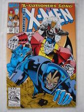 X-MEN UNCANNY #295 MARVEL COMIC X-CUTIONERS SONG PART5 DECEMBER 1992