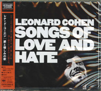LEONARD COHEN-SONGS OF LOVE AND HATE-JAPAN CD C94