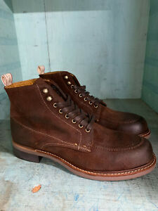 Rag & Bone Moc Toe Lace Up Size 10 M Made in USA