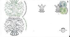 Nederland - FDC 760 Dag van de postzegel( fosfor rechts)