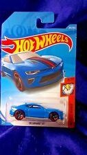 Hot Wheels '18 Camaro SS Muscle Mania Series #8/10 Blue Die-Cast 1:64 Scale