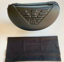Giorgio Armani Emporio Armani Sunglasses Black Hard Case + FREE CLOTH Glasses