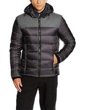 CMP F.lli Campagnolo Anthracite Feel Warm Flat Padded Quilted Hood Jacket XXL