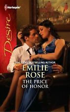 Harlequin Desire:The Price of Honor, #2124-Emilie Rose + FREE BOOK + SHIPS FREE!