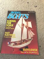 AUG 1986 MODEL BOATS boat model magazine