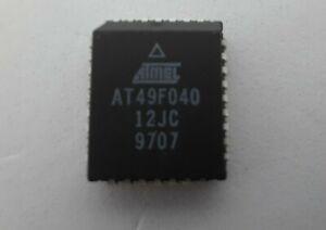 New 5 x AT49F040-PLCC