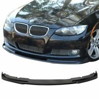 07-10 BMW E92 2DR SE Front Bumper Splitter Lip | Coupe | 328i 335i | NEW PLASTIC