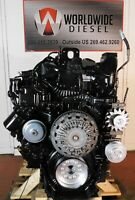 2016 Paccar MX-13 Diesel Engine. 455HP, Approx. 40K Miles. All Complete