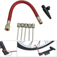 7 X/Kit Pump Adaptor Set Needle Valve Connector Foot Ball Airbed Bicycle Tyre*`
