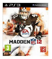 Madden NFL 12 (PS3) PS3 VERY GOOD CONDITION ORIGINAL GAME CASE WITH MANUAL