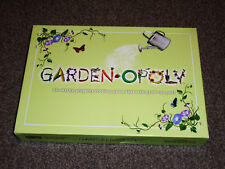 """GARDEN-OPOLY PROPERTY TRADING GAME """"MONOPOLY""""  NEW SEALED CONTENTS (FREE UK P&P)"""