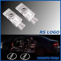 AUDI LED LOGO RS Türlicht Beleuchtung Projektor AUDI A3 A4 A5 A6 A7 A8 Q3 Q5 Q7