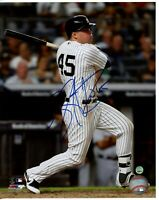 Luke Voit Autographed Signed New York Yankees 8x10 Action Photo Steiner COA