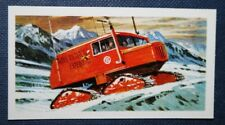 Trans Antarctic Exploration   Chrysler  SNO-CAT     Vintage  Card  EXC