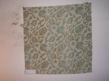 "Highland Court ""Courtney"" embroidered novelty floral fabric remnant, opal"