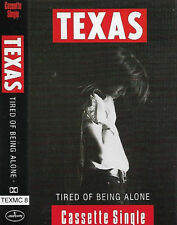 Texas ‎Tired Of Being Alone CASSETTE SINGLE Rock, Pop Rock, Soul