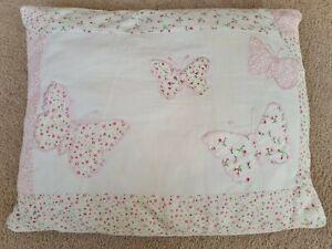 Laura Ashley Bella Butterfly Bedroom Cushion Girls