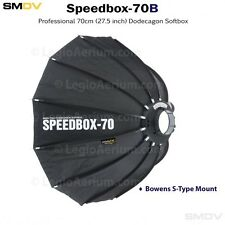 SMDV Speedbox-S70B Softbox + GRID Combo.   SMDV 70 with Bowens Mount Softbox