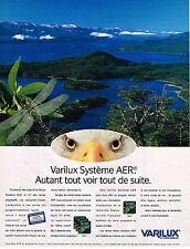 PUBLICITE ADVERTISING 045  1998  VARILUX  optique système AER