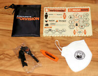 Tom Clancy's The Division promo Survival Kit Extremely Rare PS4 Xbox One