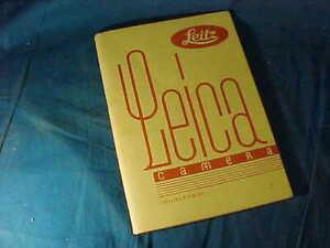 Orig 1931 LEICA CAMERA 35mm Advertising CATALOG