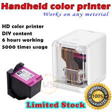 Mini Portable Wireless Mobile Color Handheld Inkjet Printer WIFI USB Bluetooth