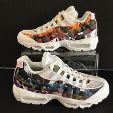 brand new d686d 1a162 NIKE AIR MAX 95 ERDL PARTY CAMO WHITE MULTI-COLOR MENS SZ. 11