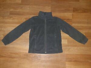 Nice Boys Columbia 8 Fleece Zip Front Jacket Gray