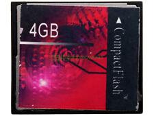 Scheda compact flash 4Gb, marca generica.