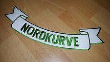 Aufnäher Stoff Patch gestickt Nordkurve Werder Bremen Kutte Rarität neu