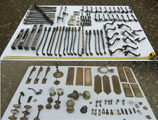 More details for vintage, antique brass(mostly), door, window and cupboard fittings - job lot