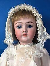 """RARE Antique Bisque LADY Body DOLL HEINRICH HANDERWERCK #69 12X about 24"""" Corset"""