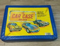Vintage Tara Toy Corp. 24 Car Case Deluxe with 2 car holder sections